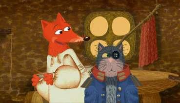 Смотреть мультик про кота и лису
